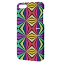 Connected shapes in retro colors  			Apple iPhone 5 Hardshell Case with Stand View3