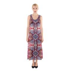 Lit010413005009 Full Print Maxi Dress