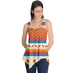 Tribal shapes  Sleeveless Tunic