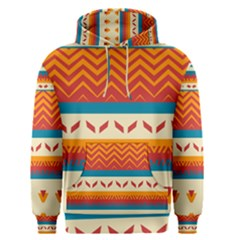 Tribal Shapes  Men s Pullover Hoodie