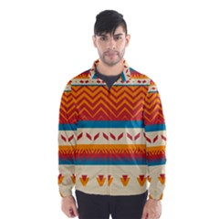 Tribal Shapes  Wind Breaker (men)