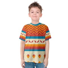Tribal shapes  Kid s Cotton Tee