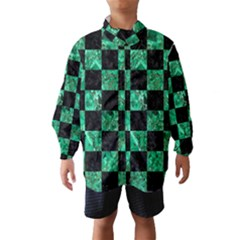 Square1 Black Marble & Green Marble Wind Breaker (kids)