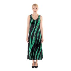 SKN3 BK-GR MARBLE (R) Full Print Maxi Dress