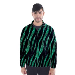Skin3 Black Marble & Green Marble (r) Wind Breaker (men)