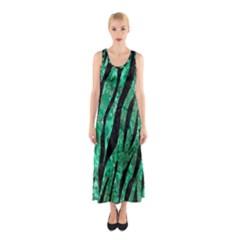 SKN3 BK-GR MARBLE Full Print Maxi Dress