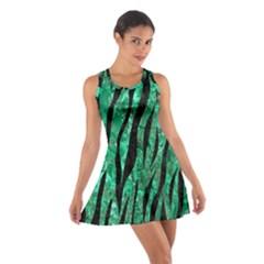 SKN3 BK-GR MARBLE Racerback Dresses