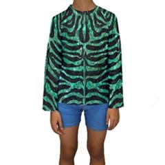 SKN2 BK-GR MARBLE (R) Kid s Long Sleeve Swimwear
