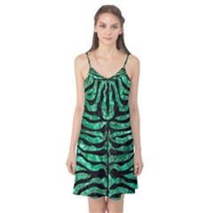 Skin2 Black Marble & Green Marble Camis Nightgown