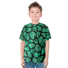 SKN1 BK-GR MARBLE (R) Kid s Cotton Tee