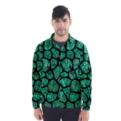 Skin1 Black Marble & Green Marble (r) Wind Breaker (men)