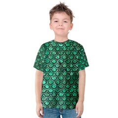 SCA2 BK-GR MARBLE Kid s Cotton Tee