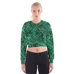 DMS1 BK-GR MARBLE (R) Women s Cropped Sweatshirt