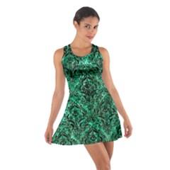 DMS1 BK-GR MARBLE (R) Racerback Dresses