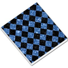 Square2 Black Marble & Blue Marble Small Memo Pads