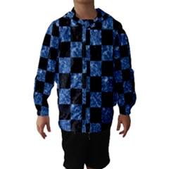 Square1 Black Marble & Blue Marble Hooded Wind Breaker (kids)