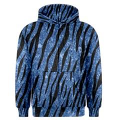 Skin3 Black Marble & Blue Marble Men s Zipper Hoodie