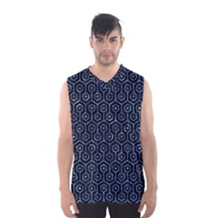 HXG1 BK-BL MARBLE (R) Men s Basketball Tank Top