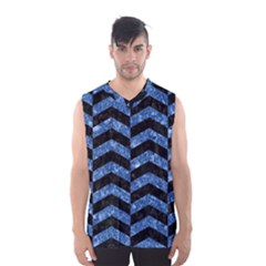 CHV2 BK-BL MARBLE Men s Basketball Tank Top