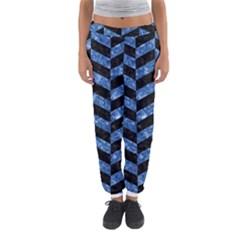 CHV1 BK-BL MARBLE Women s Jogger Sweatpants