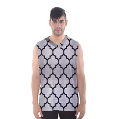 TIL1 BK MARBLE SILVER (R) Men s Basketball Tank Top