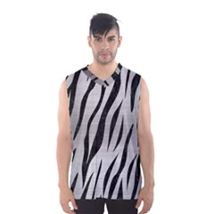 SKN3 BK MARBLE SILVER (R) Men s Basketball Tank Top