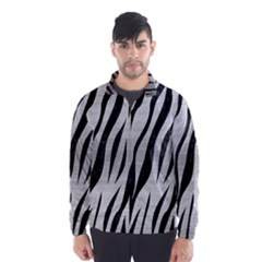 SKN3 BK MARBLE SILVER (R) Wind Breaker (Men)