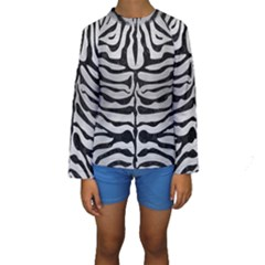 SKN2 BK MARBLE SILVER (R) Kid s Long Sleeve Swimwear