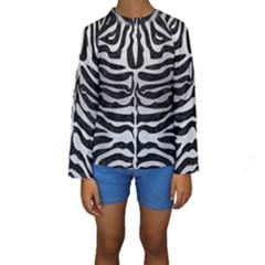 SKN2 BK MARBLE SILVER Kid s Long Sleeve Swimwear
