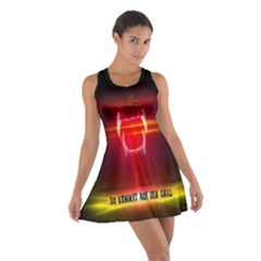 Famous last words - Du kommst auf den Grill Cotton Racerback Dresses