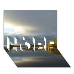 View   On The Lake Hope 3d Greeting Card (7x5)