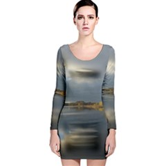 View   On The Lake Long Sleeve Bodycon Dress