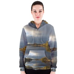 View   On The Lake Women s Zipper Hoodie
