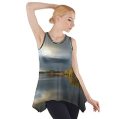 View   On The Lake Side Drop Tank Tunic