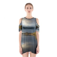 View   On The Lake Cutout Shoulder Dress