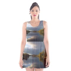 View   On The Lake Scoop Neck Skater Dress