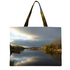 View   On The Lake Large Tote Bag