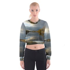 View   On The Lake Women s Cropped Sweatshirt