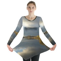 View   On The Lake Long Sleeve Tunic