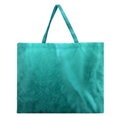 Floating Zipper Large Tote Bag