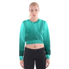 Floating Women s Cropped Sweatshirt