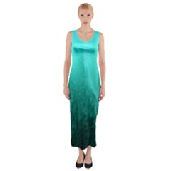 Floating Fitted Maxi Dress