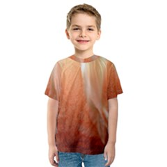 Floating Peach Kid s Sport Mesh Tee