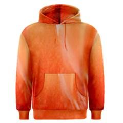 Floating Orange Men s Pullover Hoodie