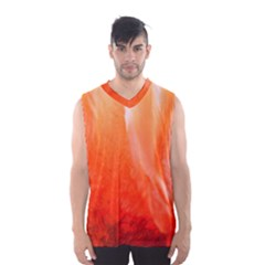 Floating Orange Men s Basketball Tank Top