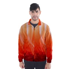 Floating Orange Wind Breaker (men)