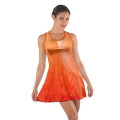 Floating Orange Racerback Dresses