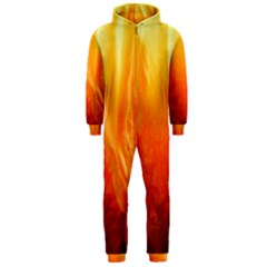 Floating Orange And Yellow Hooded Jumpsuit (men)