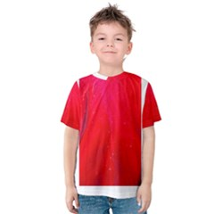 Red and Beautiful Kid s Cotton Tee