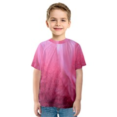 Floating Pink Kid s Sport Mesh Tee